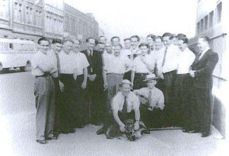 Durch den Vereinsausflug 1950 an die Ahr, kam die Wildsau zu Wappenehren