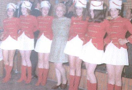 Tanzgarde des Würmer Wenk im Jahre 1970