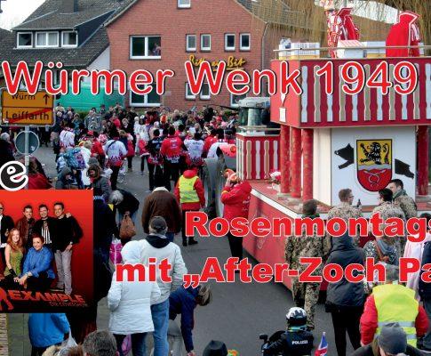 "Rosenmontagszug und ""After-Zoch-Party"" 2018"